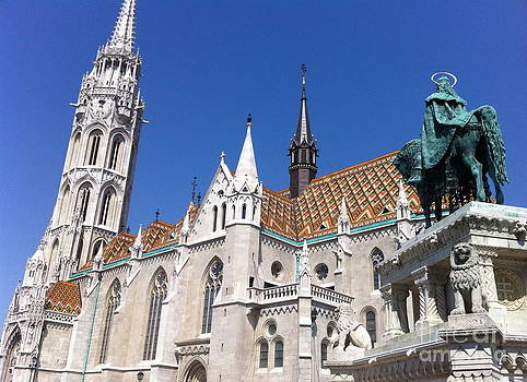 Matthias Church Budapest by Mark Messenger