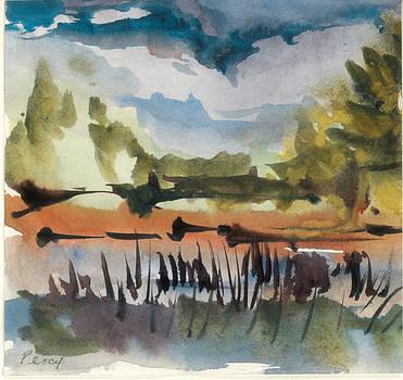 Mattison Lake by Pat Percy