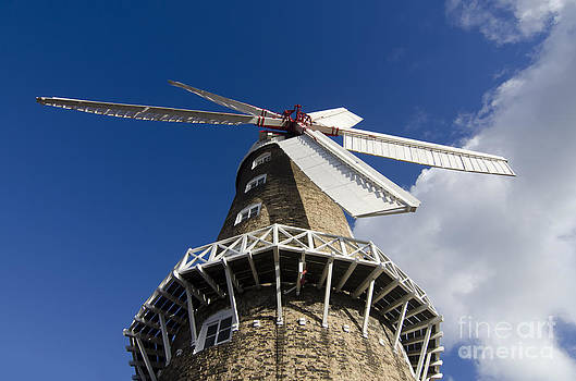 Maud Foster windmill by Steev Stamford