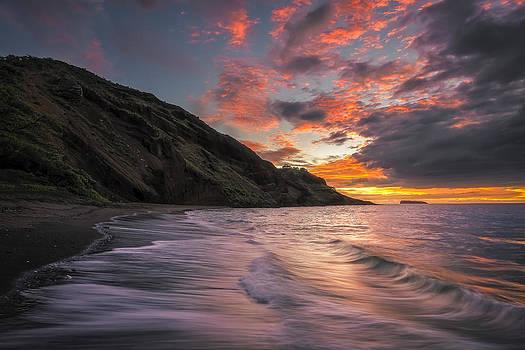Maui Black Sand by Hawaii  Fine Art Photography