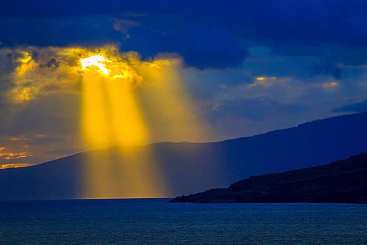 Maui Captures the Sun 1 by Jonica Hall