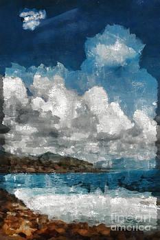 Maui Sea Sun and Surf by Michael Flood