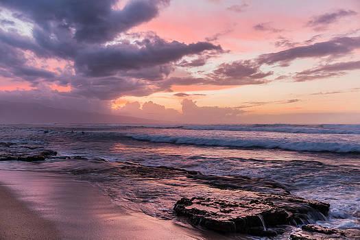 Maui Sunset by Chuck Jason