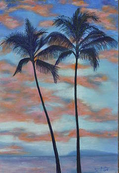 Two Palm Trees by Jane Friday