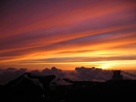 Mauna Kea Sunset by Robin Chaffin