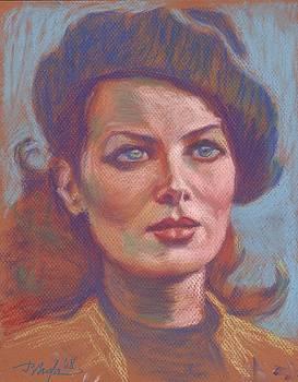 Maureen O'Hara by Horacio Prada