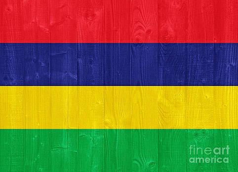 Mauritius flag by Luis Alvarenga