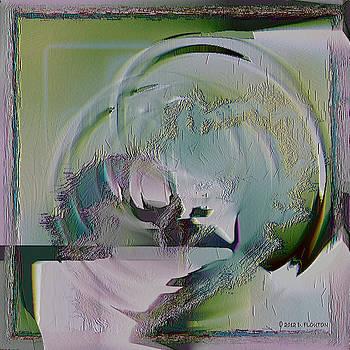 Dee Flouton - Mauve Green Abstract