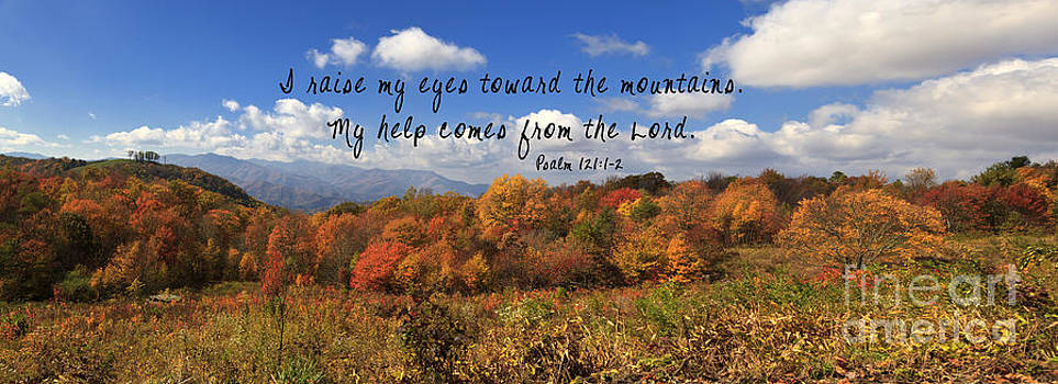 Jill Lang - Max Patch Panorama with Scripture
