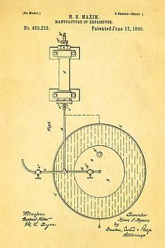 Ian Monk - Maxim Explosives Patent Art 1890