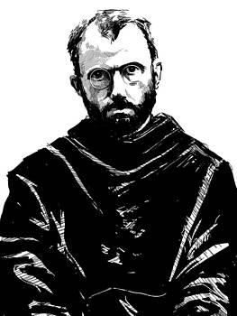 Maximilian Kolbe by David Leiberg
