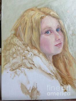 Maxine in Winter by Kathleen Hoekstra