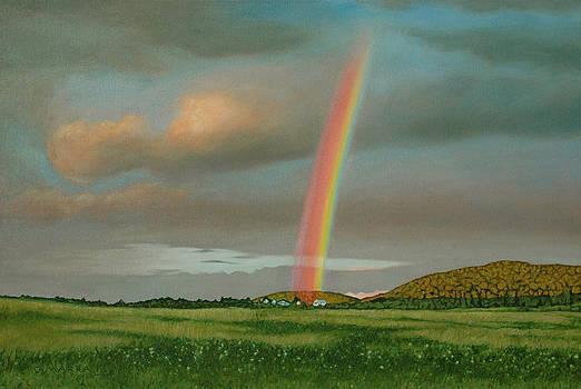 Maxwell Settlement Rainbow by Allan OMarra
