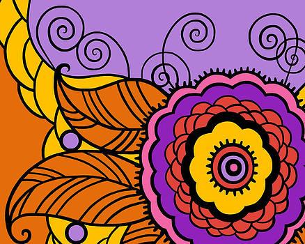 Nancy Lorene - MAY FLOWER Mod Tropical Sunset