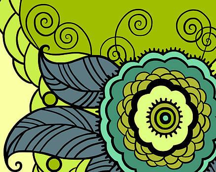 Nancy Lorene - MAY FLOWER Spring Greens