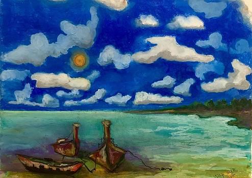 Maya Bay by Dilip Sheth