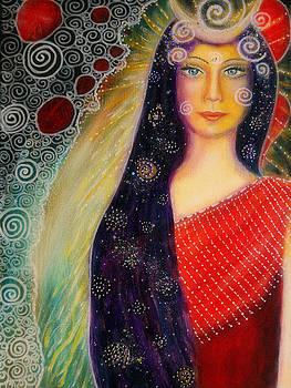 Mayam - priestess of the divine feminine by Lila Violet
