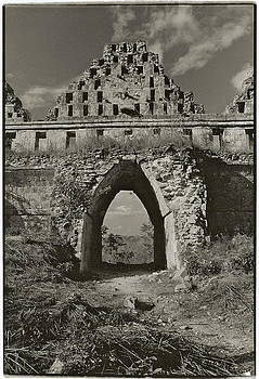 Mayan Arch at Uxmal by Howard Dratch