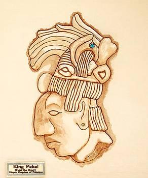 Mayan King Pakal The Great by Alberto H-B