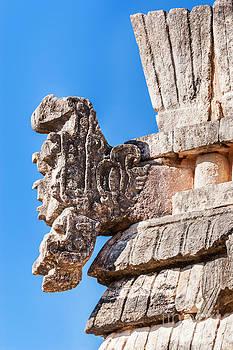 Jo Ann Snover - Mayan open mouth serpent