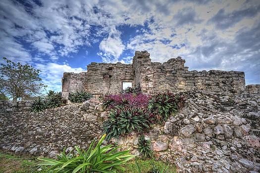 Mayan Ruin at Tulum by Jaki Miller