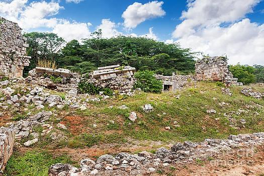 Jo Ann Snover - Mayan ruins at Labna Mexico