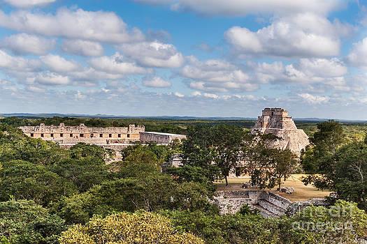 Jo Ann Snover - Mayan ruins Uxmal Mexico