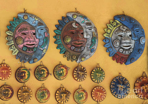 Mayan Suns by Kathy DesJardins