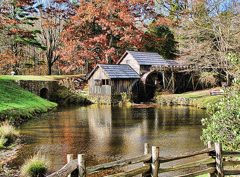 Maybry Mill II by Beckie Fitgerald