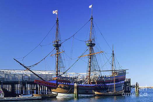 Mayflower II by Derek Croucher