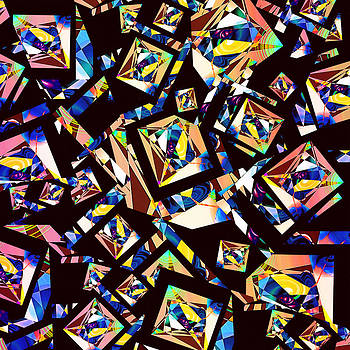 Joe  Connors - DESIGN SQUARE 41  Maze of Edges