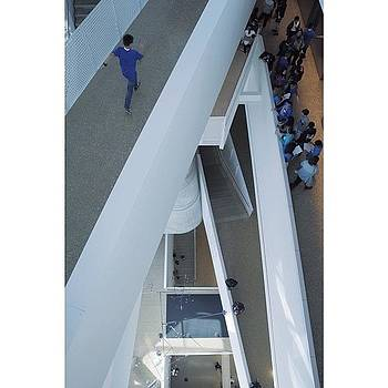 M.c. Escher Moment At The Perot Museum by Chris Davis