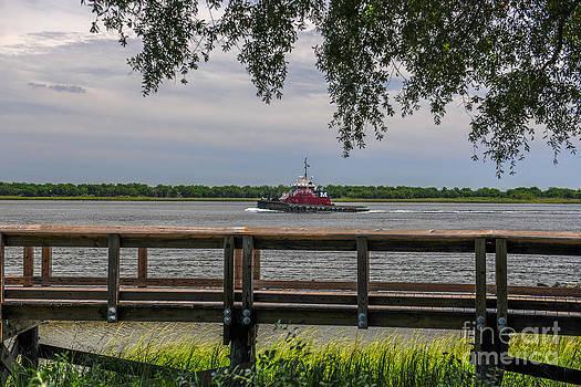 Dale Powell - McAllister Tug Boat