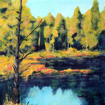 McCormick Woods Big Pond by Marti Green