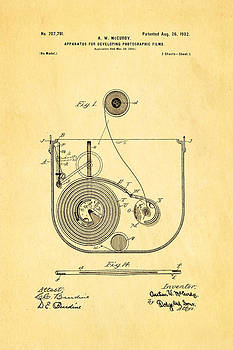Ian Monk - McCurdy Photographic Film Developer Patent Art 1902