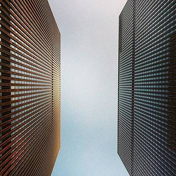 Mcgraw Hill #buildings #nyc  #lookingup by Matthew Tarro