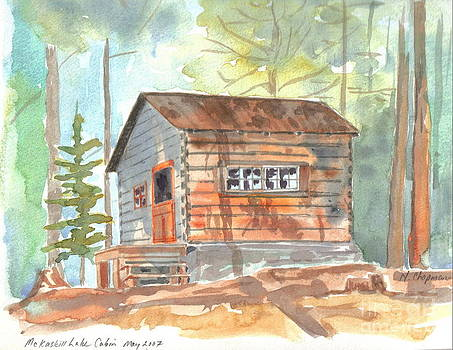McKaskill Cabin by Nancy Chapman