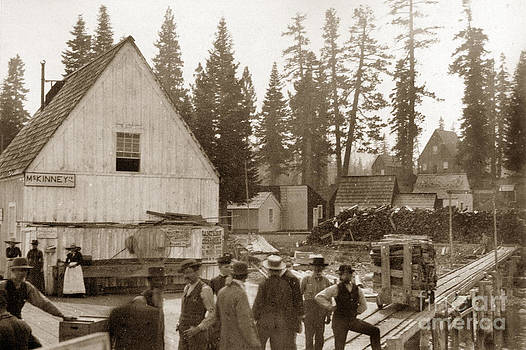 California Views Mr Pat Hathaway Archives - McKinneys Landing Lake Tahoe California circa 1890