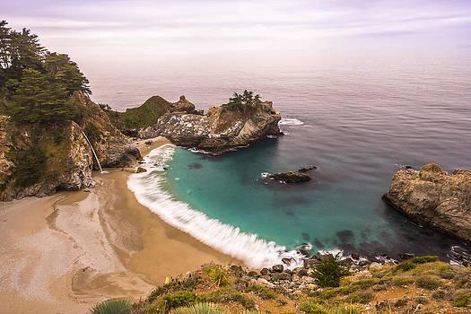 McWay Fall  Big Sur California USA by Jianghui Zhang