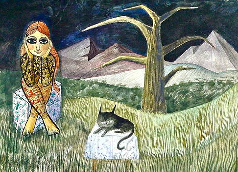 Me and my Cat II by Donovan OMalley