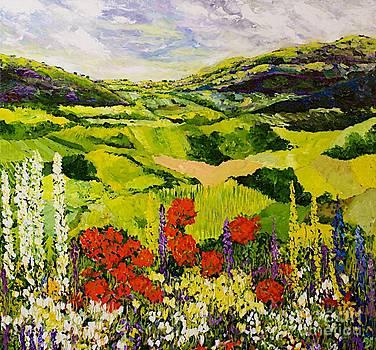 Meadow Lark by Allan P Friedlander