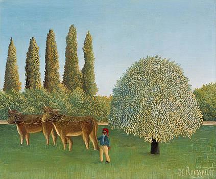 Henri Rousseau - Meadowland