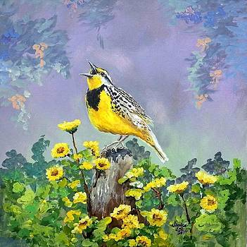 Meadowlark Song by Sandra Lett