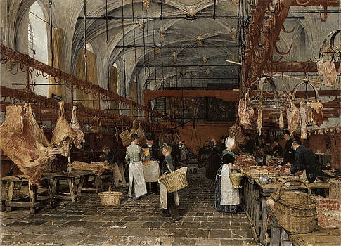 Hans Herrman - Meat Market in Middleburg