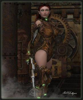 Mech-Assassin by Rachel Dudley