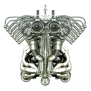 Mechanical Figure by Diuno Ashlee