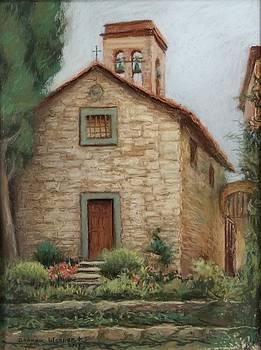 Medeival Church by Sharon Weaver