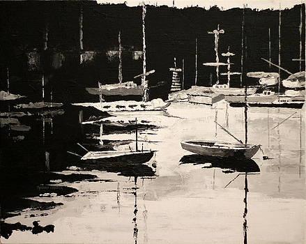 Medford Boat Club by Robert Crooker