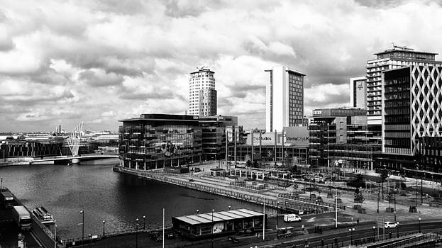 Media City Salford Quays by Wayne Molyneux