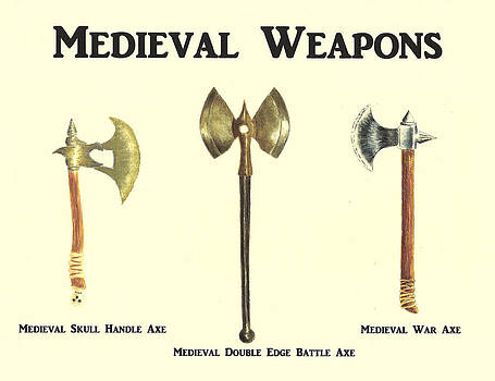 Medieval Weapons by Michael Vigliotti